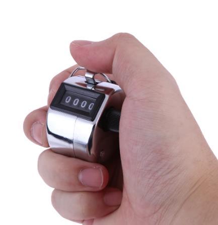 4 цифр Мини ручной счетчик цифровой Гольф-кликер ручная тренировка подсчета Макс. 9999 счетчик купить дешео ан алиэкспресс