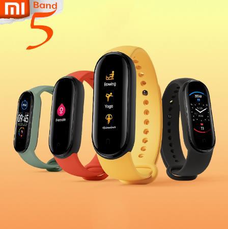 оформить PRESALE Xiaomi Mi Band 5 браслет для снятия стресса, для женщин, для здоровья, смарт-браслет, пульсометр, для сна, шаг, для плавания, спортивный монитор, приложение, Push Alarm