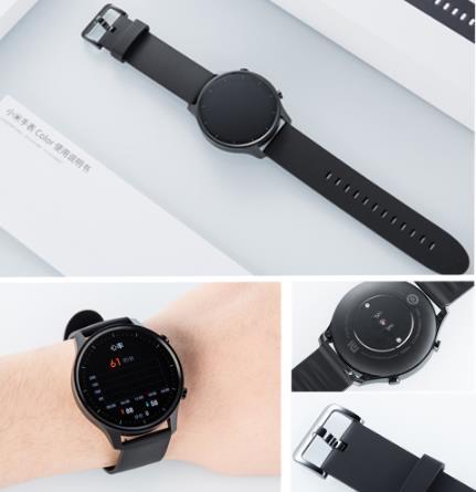 купить Оригинальные Смарт-часы Xiaomi цветной NFC 1,39 ''AMOLED GPS фитнес-трекер 5ATM водонепроницаемый спортивный монитор сердечного ритма часы Mi цвет
