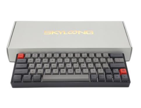купить клавиатуру на алиэкспресс дешево со скидкой механическую Четырёхъядерный 64-разрядный процессор клавишная клавиатура RGB подсветкой Механическая игровая клавиатура NKRO Bluetooth 5,1 Тип-C двойной режим PBT клавиши Gateron оптический переключатель