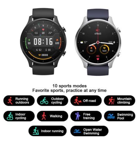 купить дешево на алике Смарт-часы Xiaomi цветной GPS модный NFC спортивный браслет 1,39 дюймов Bluetooth 5,0 наручные часы фитнес-трекер монитор сердечного ритма