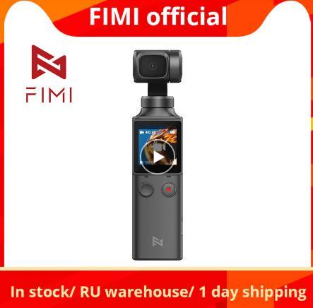 купить на aliexpress дешево FIMI Пальмовая камера 3-осевой 4K HD Ручной Стабилизатор камеры 128 ° широкоугольный смарт-трек Встроенный Wi-Fi контроль