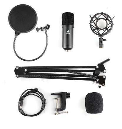 купить комплект микрофон на aliexpress maono