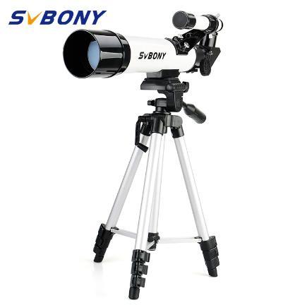 купить SvBony высокое качество 60420 преломляющий 60 мм Детский астрономический телескоп имеет широкоугольный Мощный Зум-телескоп со штативом дешево на aliexpress