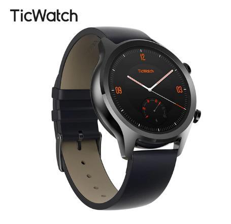 купить дешево на алиэкспресс Ticwatch C2 одежда OS от Google мужские Bluetooth Смарт часы Android и iOS Совместимость IP68 плавать готов водонепроницаемый GPS NFC доступны 4.8