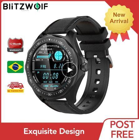 новые умные часы купить ан aliexpress BlitzWolf BW-HL3 Smart Watch 2020 Часы для Мужчин