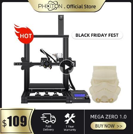 купить 3D принтер Мега ноль новый экструдер металлическая рама Высокая точность подходит для 1,75 мм PLA нити FDM 3D Принтер Комплект на алиэкспрессе