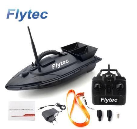 Радиоуправляемая лодка Flytec 2011-5 рыболокатор лодка 1,5 кг 500 м с дистанционным управлением рыболовная приманка лодка корабль скоростная лодка радиоуправляемые игрушки 5,4 км/ч