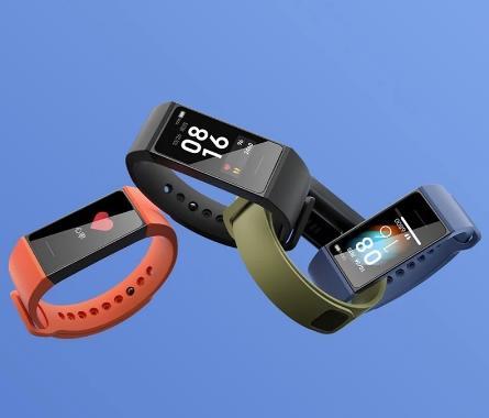 Спортивные браслеты XIAOMI Mi Smart Band 4C 1.08 '' большой TFT-экран |14 дней в режиме ожидания|прямая зарядка от розетки