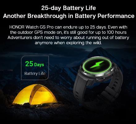 Honor GS Pro спортивные Смарт-часы глобальная версия мониторинг вызовов через Bluetooth SpO2 сердечного ритма 1,39 ''Экран
