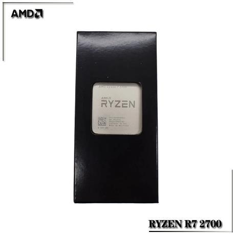 AMD Ryzen R7 2700 3,2 ГГц Восьмиядерный Sinteen плотность ткани-16M 65 Вт Процессор процессор YD2700BBM88AF гнездо AM4