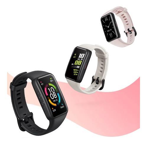 Оригинальный Смарт-браслет Honor Band 6, Смарт-часы китайской версии, пульсометр, датчик уровня кислорода в крови, сенсорный экран Amoled, водонепроницаемый