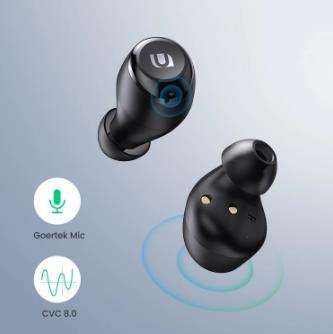 купить UGREEN HiTune TWS наушники беспроводные Bluetooth наушники aptX с чип Qualcomm True беспроводные стерео наушники гарнитура наушники