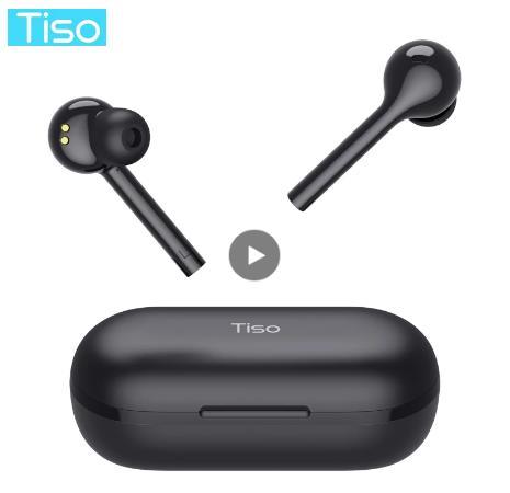 Тисо i7 беспроводной Bluetooth 5,0 наушники сенсорное управление TWS наушники IPX5 Водонепроницаемый двойной режим 3D Hi-Fi стерео гарнитура с микрофоном