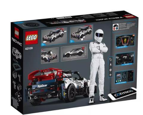 купить на алиэкспресс Конструктор LEGO Technic 42109 Гоночный автомобиль Top Gear на управлении