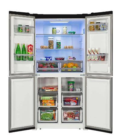 купить Инвертерный Холодильник HIBERG RFQ-490DX NFGB на алиэкспресс