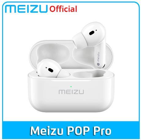 Meizu POP Pro Наушники-вкладыши TWS наушники Bluetooth 5,0 активных Шум отмены Беспроводной наушники 300 мА/ч, Батарея зарядным устройством для мобильный телефон