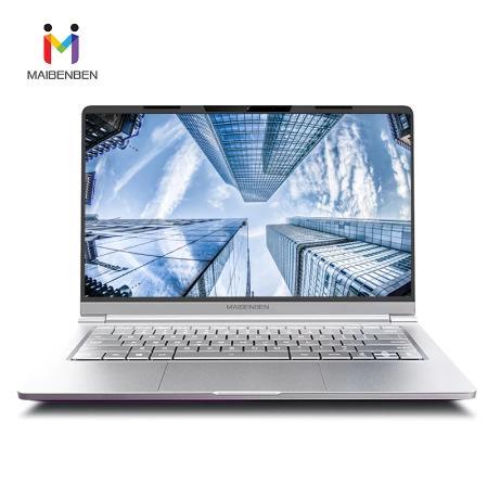 """MAIBENBEN ноутбук Maibook M446 【 14 """"IPS/AMD Ryzen5 4600H/8GB DDR4 3200MHZ/512GB PCI-E SSD/DOS/1,18 KG/Ultrathin】 местная гарантия"""