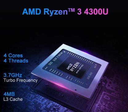 купить MAIBENBEN ноутбук M543 ноутбук [AMD Ryzen 3 4300U, 15,6-дюймовый ADS FHD,4G/8G/16G Linux/Windows10] один год гарантии