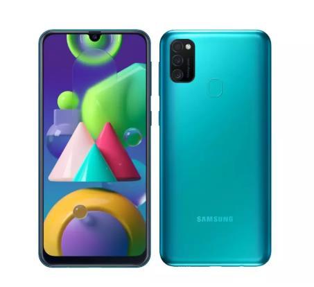 купить Смартфон Samsung Galaxy M21 4/64GB [Ростест, новый, SIM любых операторов, официальная гарантия, МегаФон]