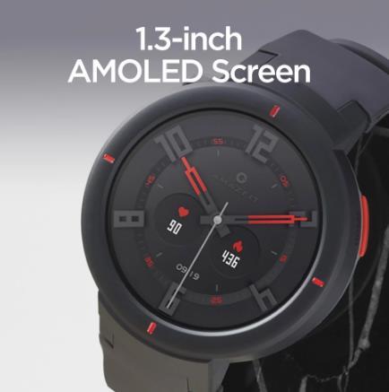 Смарт-часы Amazfit Verge Sport, GPS, IP68, GLONASS