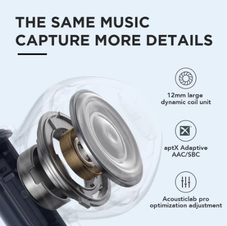 * Мировая Премиум * Lou haymoripods беспроводные наушники Qualcomm QCC3040 гарнитура Bluetooth TWS наушники aptX адаптивные AAC наушники