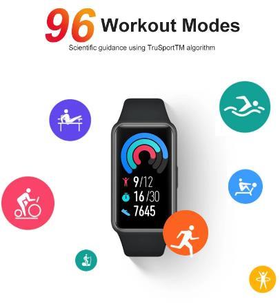 [Мировая премьера] В наличии глобальная версия браслете Huawei Band 6 Smartband крови кислородом 1,47 ''AMOLED сердечного ритма трекер монитор наблюдения за сном