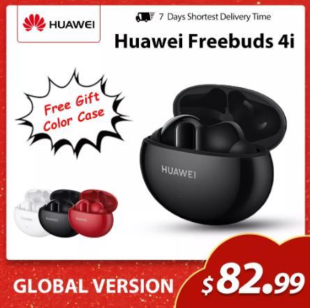 Новинка HUAWEI FreeBuds 4i TWS беспроводные наушники ANC чистый звук качественные беспроводные bluetooth наушники с длительным сроком службы батареи