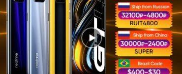 """Мировая премьера realme GT 5G телефон Глобальная версия Snapdragon 888 65 Вт Супер Дротика заряда 120 Гц 6,43 """"AMOLED 8 ГБ 128 NFC"""
