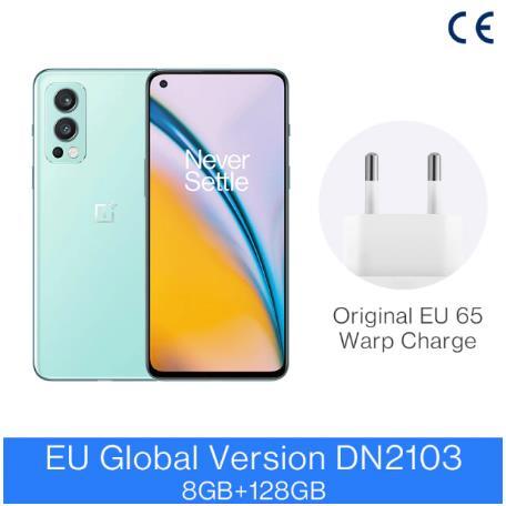 Смартфон OnePlus Nord 2, телефон со стандартным дизайном, память 8 ГБ, 128 ГБ, камера 50 МП с искусственным интеллектом, OIS MTk Dimensity 1200-AI Warp Charge 65; код: SUN470(P3500-750) SUN330(P2500-330)